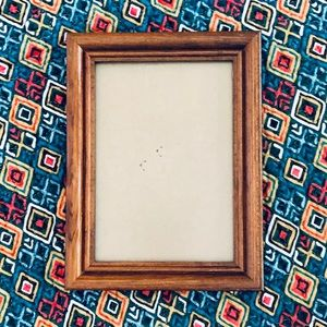 """Wood 4x6"""" Picture Frame W/ Clear Glass Window"""